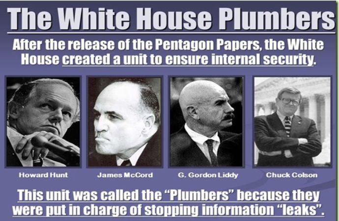 Watergate Plumbers